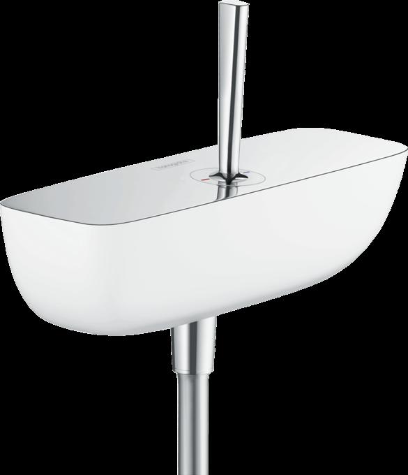 Hansgrohe - PuraVida - Egykaros zuhanycsaptelep falsíkon kívüli szereléshez -