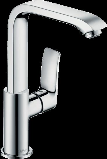 Hansgrohe - Metris - Egykaros mosdócsaptelep 230 automata lefolyó-garnitúrával -