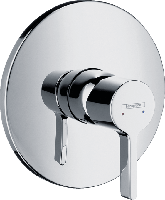 Hansgrohe - Metris - Egykaros zuhanycsaptelep falsík alatti szereléshez -