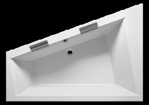 RIHO - Fürdőkád - DOPPIO JOBB -