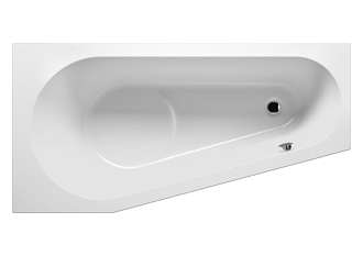 RIHO - Fürdőkád - DELTA JOBB -