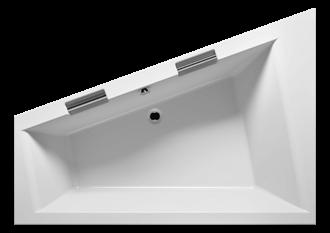 RIHO - Fürdőkád - DOPPIO JOBB PLUG & PLAY -