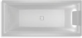 RIHO - Fürdőkád - STILL SQUARE LED R -