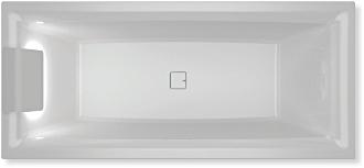 RIHO - Fürdőkád - STILL SQUARE LED L -